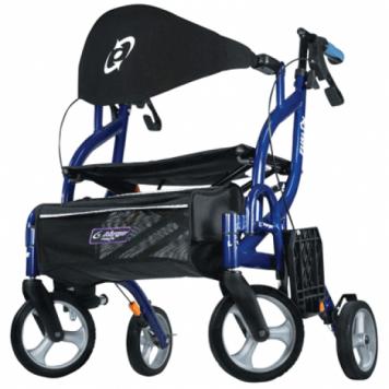 Airgo Fusion rollator en rolstoel in 1-RollatorsNL