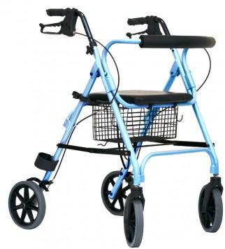 Lichtgewicht Rollator Movelight Blauw