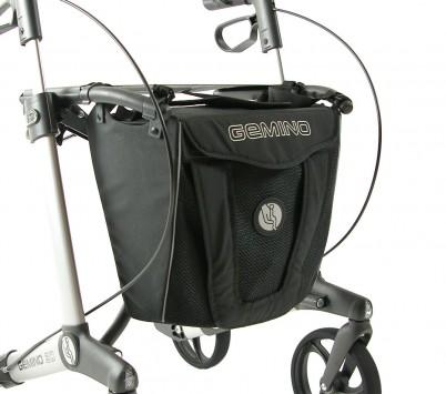 Gemino 30 Luxe Rollatortas /Zwart